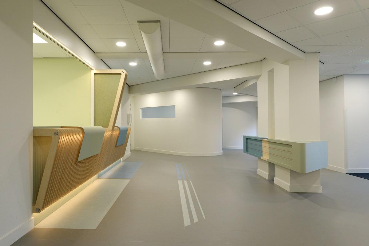 Interieur gezondheidscentrum de Linde, Ermelo